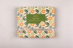 Zenurdel Packaging #botanical #old #leaf #packaging #orange #citrus #illustration #vintage
