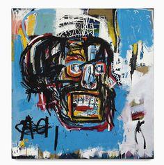 Is this Basquiat worth $110.5 Million? #jeanmichelbasquiat #basquiat