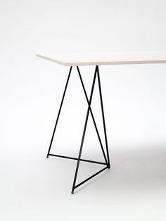 Diamond by Master & Master #interior #wood #table