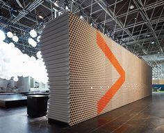 D'art Design Gruppe | 123 Inspiration #cardboard #projektpilot #design #context #euroshop #tubes #dart