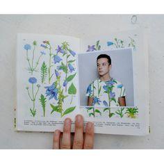 #illustration #patterndesign #pattern #fabric #textile #floral #vintage #plants #book