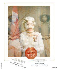Reine-Queen_amerindiensVirgini_web.jpg (c)virginibedard.com #indigenous #graphic #digital #indian #original #art #queen