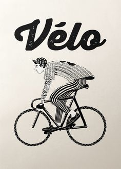 Bicycle Graphic Design – Velo series