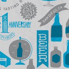 Oh Beautiful Beer #beer #diego #globe #color #san #brew #peint #2 #anniversary