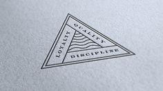 Loyalty, Quality, Discipline #typography