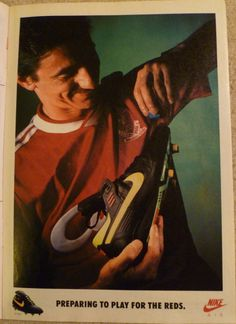 nike air speed ian rush reds advert #nike