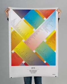 B&U #layers #colors #fade #poster