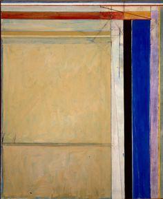 © The Estate of Richard Diebenkorn/© Corcoran Gallery of Art, Washington, D.C.; used with permission #painting #diebenkorn #richard #art