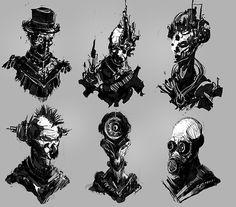 Concept sketches #2
