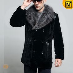 Shearling Sheepskin Winter Coat CW868007 #sheepskin #coat #winter