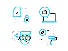 Improvement Illustrations #line #pictogram #icon #sign #picto #symbol