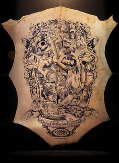 The Tattooed Poster #tattoo