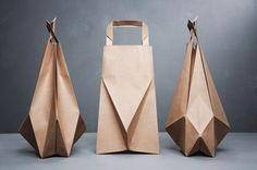 Extra-Ordinary brown paper bag