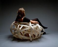 FFFFOUND! | Nest Bird Chair | Fubiz™ #chair #design