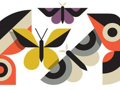 Butterflies2, Doublenaut #illustration