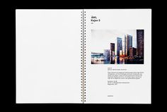 Ã…WL Arkitekter by Henrik Nygren #stationary #brand design #branding #presentation #book