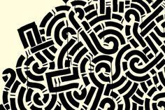 Aaron Del La Cruz #pattern #art #street