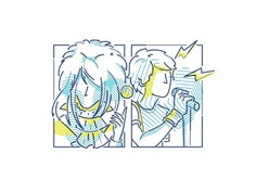 The goblin king and Scott pilgrim