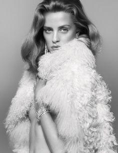 Julia Frauche by Benjamin Lennox for Numero Magazine