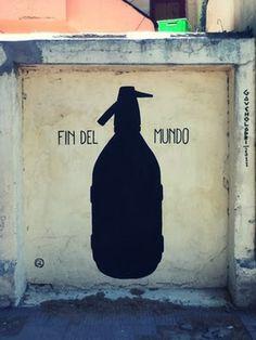FIN DEL MUNDO | Gaucholadri #gaucholadri #streetart #argentina #del #fin #mundo #wall #painting