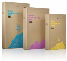 TheDieline.com: Askul #packaging
