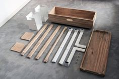 Arara Nômade by Pedrini & Freisleben #wood #minimal #closet