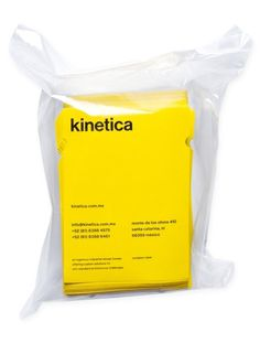 Kinetica. on the Behance Network #card #design #graphic #brand #identity