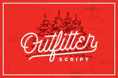 Outfitter Script #typography