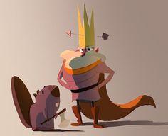 King & biver #animation #biver #character #king