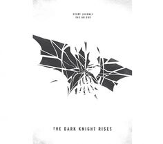 ReckerHouse #rises #knight #the #illustration #poster #minimalist #dark