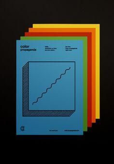 Color Propaganda Postcard - Marco Oggian