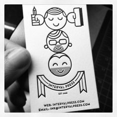 Brain Bucket #business card #black and white #silk screen #instagram #letter press