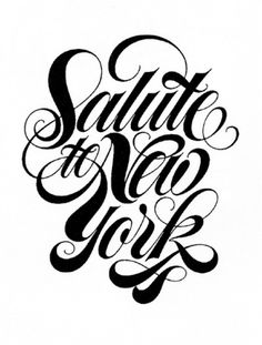 Typeverything.com - Salute to New York by André... - Typeverything #typography