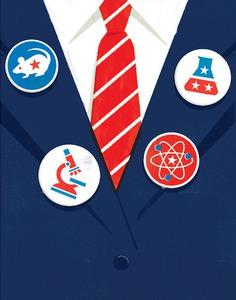 Scientific American | Vote for science #illustration
