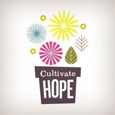 Cultivate Hope « The Tenfold Collective Blog #design #logo #leaf #flowers #tenfold