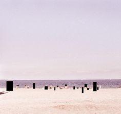 Strand #fischer #illustration #maria #beach #collage
