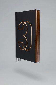30 Park Place #brochure #property #black #gold #chic