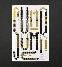 Atelier Müesli – Design graphique #abstract #form #mã¼esli #experimental #yale #gold #typography
