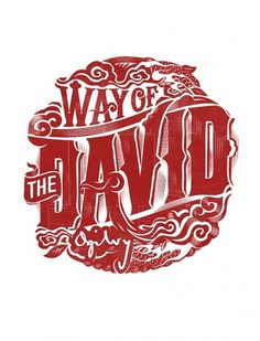 WAY OF THE DAVID on the Behance Network #type