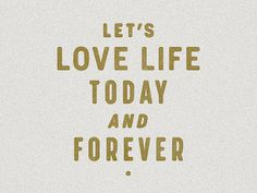 Let_s_love_life