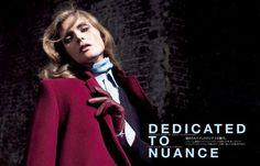 Vogue Japan December 2012 | Dedicated to Nuance