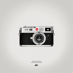 Icons, by Silence Television #inspiration #creative #camera #design #graphic #retro #illustration #leica
