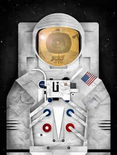 astronaut+square+merged+with+cam+1+500px.jpg 500×665 pixels #astronaut #illustration #lunar