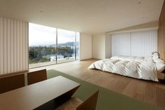 Japan Kyoto Kokusai Hotel Bedroom 01 – by Kengo Kuma and Associates | Fresshome.Com #interior #design #kyoto