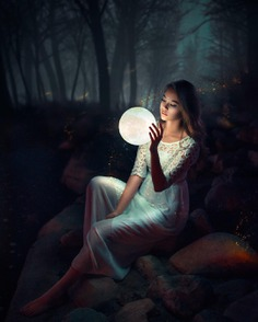 Vibrant and Moody Female Portrait Photography by Tim Cha