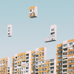 Urban Tetris - Mindsparkle Mag Mariyan Atanasov designed Urban Tetris – a beautiful project which consisted on an urban exploration of abstract shapes of tetris in Sofia, Bulgaria. #logo #packaging #identity #branding #design #color #photography #graphic #design #gallery #blog #project #mindsparkle #mag #beautiful #portfolio #designer