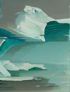 Tumblr #glitch #corrupt #iceberg
