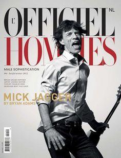 Mick Jagger #cover #man #jagger #magazine