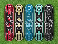 soccer team skateboards #grass #stripes #soccer #skate #series #skateboard #anchor