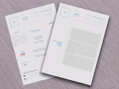Free Formal Curriculum Vitae Template in PSD Format